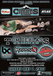 {Tom Deblass Gi & Nogi Seminar MAY 7,2017}